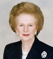 Former British Prime Minister Margaret Thatcher (1925-2012)